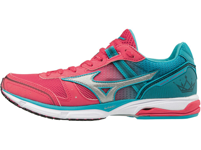 Mizuno Wave Emperor 3 Løbesko Damer pink/turkis | Running shoes